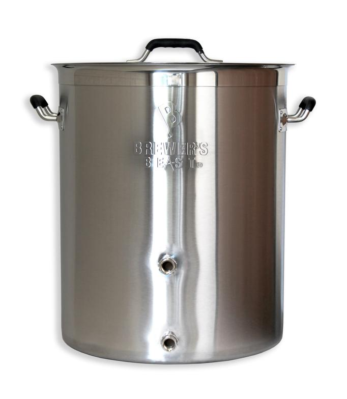 Brewers Best Beast 16 Gallon Kettles Are Available These Have A Wall Thickness Of 10mm And 4mm Thick Tri Clad Bottom That Is Induction Ready